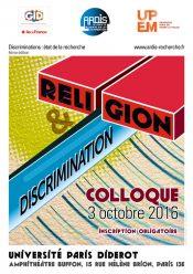 Colloque Religion et Discrimination